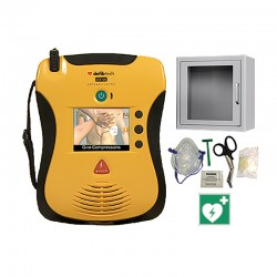 Lifeline VIEW AED Set mit Wandschrank