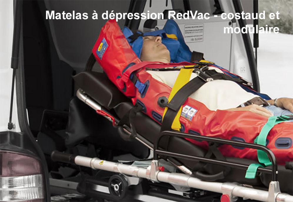 Matelas à dépression RedVac